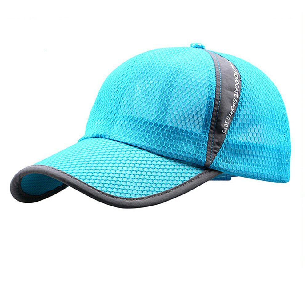 Get Quotations · Womens Mens Quick Drying Mesh Baseball Cap Summer Cool  Breathable Lightweight Anti UV Sun Protection Hat 068dfa43ddcf