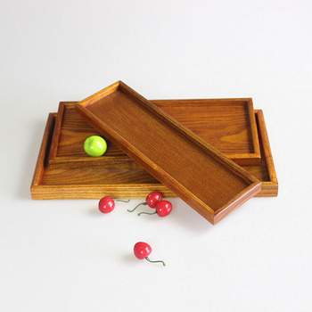 Rectangular wooden pallet for the living room or kitchen wooden tray