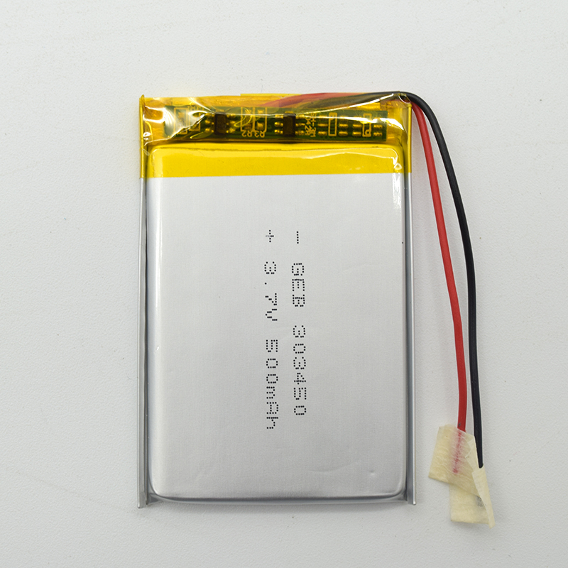 Hot sale 501235 lithium ion battery 3.7V 130mAh battery
