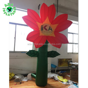 Event Decoration Inflatable 3m Lighting Inflatable Flower For Event Y192
