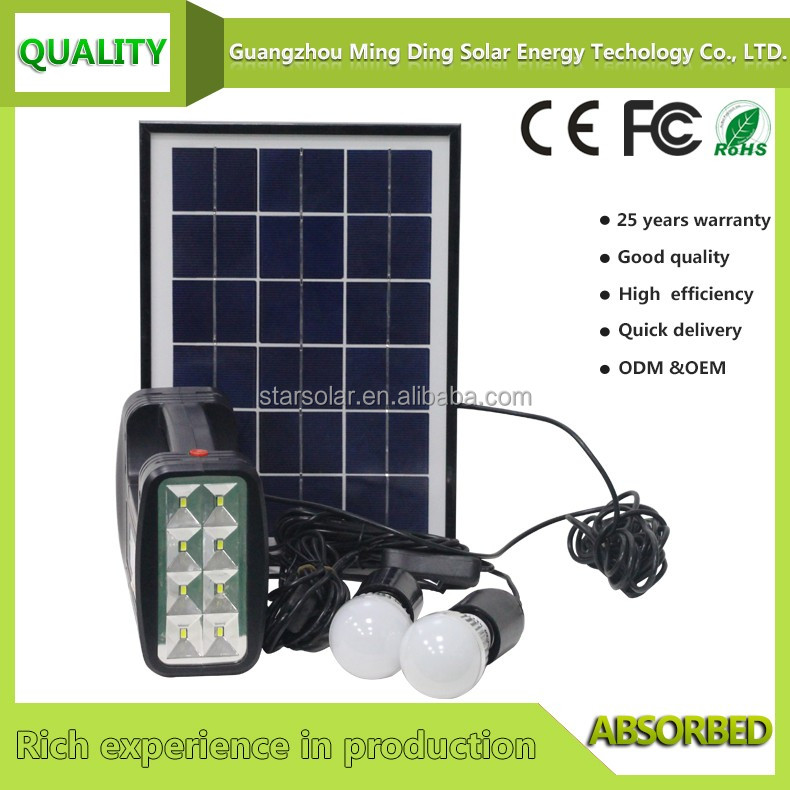 factory price mini portable solar power system for home