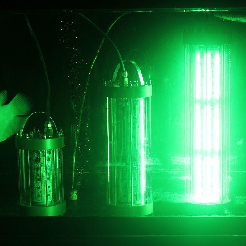 850w submersible deep drop ip68 waterproof underwater for Underwater green fishing lights
