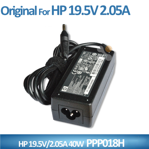 Original Genuine 19.5V 2.05A 40W AC/DC Adapter For HP Mini Netbook Battery Charger PPP018H