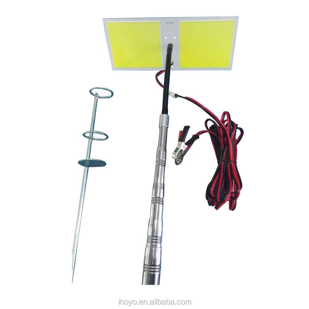 Travelling led light for outdoor camping fishing light lamp equipment power by car directly