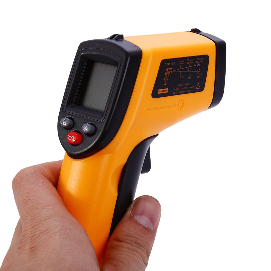 Digital Non-Contact IR Laser Infrared Gun <strong>Temperature</strong> Meter Tester Thermometer GM320