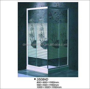 Shower Room Type and With Frame Style indoor portable shower