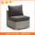 Luxury wicker rattan sofa set used restaurant furniture outdoor