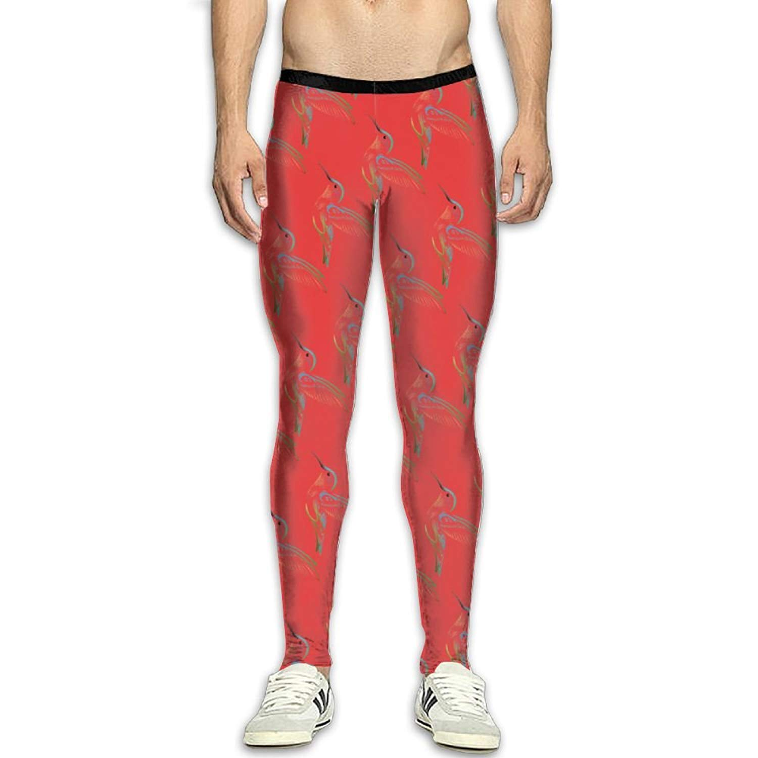 6e0a51a7b931c Get Quotations · LINpeiqiong Hummingbird Compression Pants/Running Tights  Running Tights Men Winter