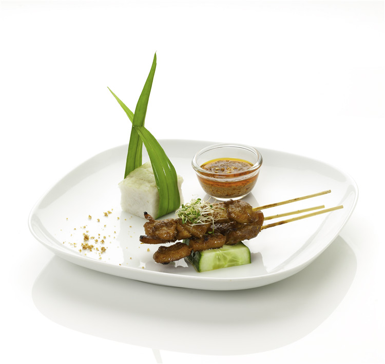 Singapore Food Suppliers Leo Satay Traditional Singapore Hainanese Pork Satay Skewers