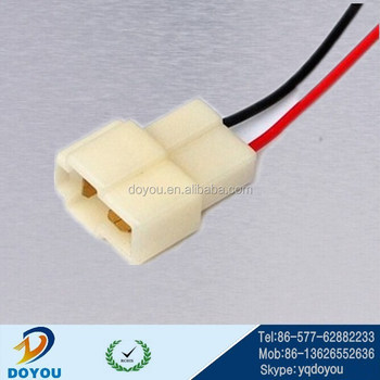Customized Dj7022-6.3-11 Automotive Connectors Wire Harness,Pa66 2 on