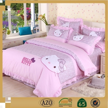Luxury Pink Hello Kitty King Size Bedding Sets Buy King Size