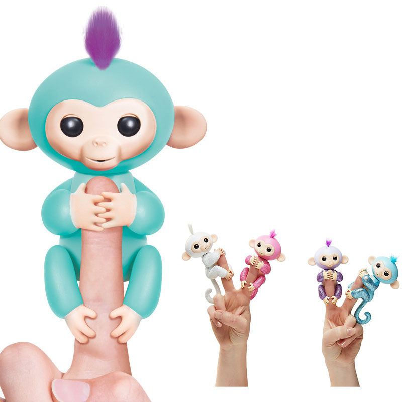 New hottest high quality 6 color in stock smart funny interactive monkey toy for kids