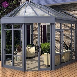 Aluminum Glass Roof Patio Enclosure Sunroom Kit