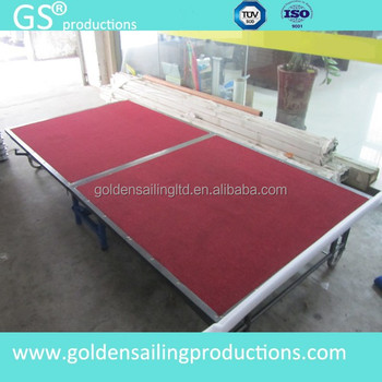 Used Steel Folding Stage,Mobile Stage Rental - Buy Used Folding Stage,Used  Portable Staging,Folding Aluminum Portable Stage Product on Alibaba com