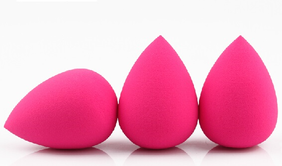 Factory Wholesale latex free cosmetic sponge beauty blending puff applicator