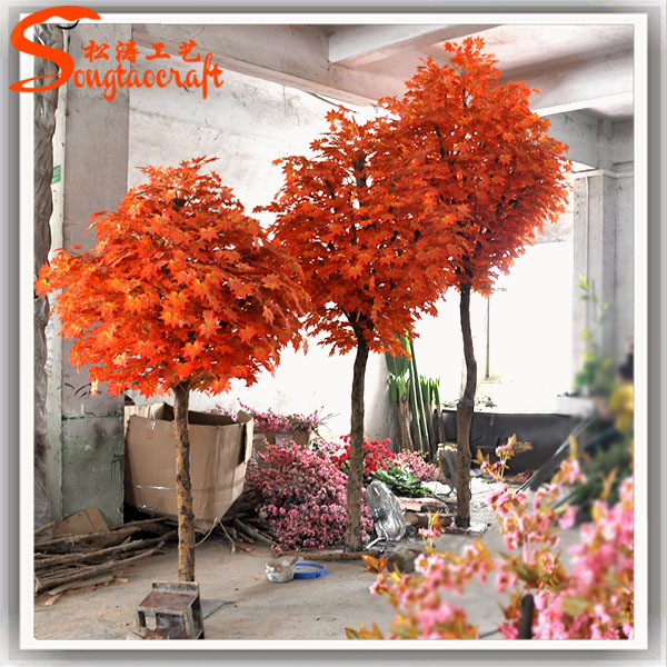 Unique Artificial Red Maple Tree Prices Landscape Engineering Japanese  GH43