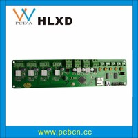 mobile tv circuit board assembly