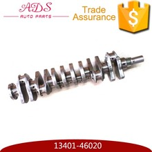 Auto parts wear resisting engine parts car crankshaft for LEXUS CROWN SUPRA 13401-46020 13401-46021