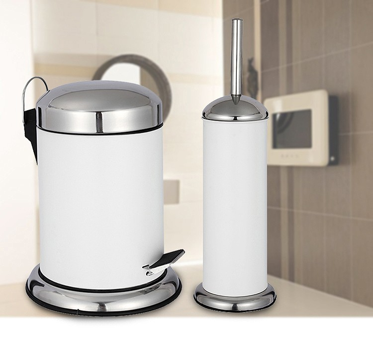 top sale kitchen stainless steel garbage can with retro cover