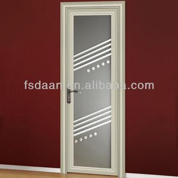 New design aluminum lattice glass interior bathroom door & New Design Aluminum Lattice Glass Interior Bathroom Door - Buy ...