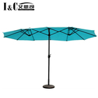 Wholesale aluminum steel parasol outdoor umbrella beach umbrella