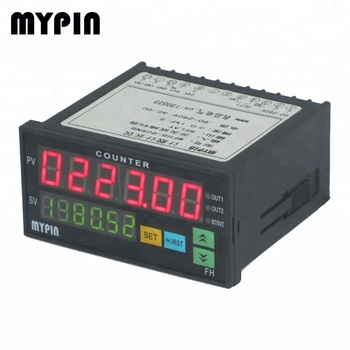 Mypin 2016 FH8-6CRNA popular 6 digits led relay output totalizer counter meter