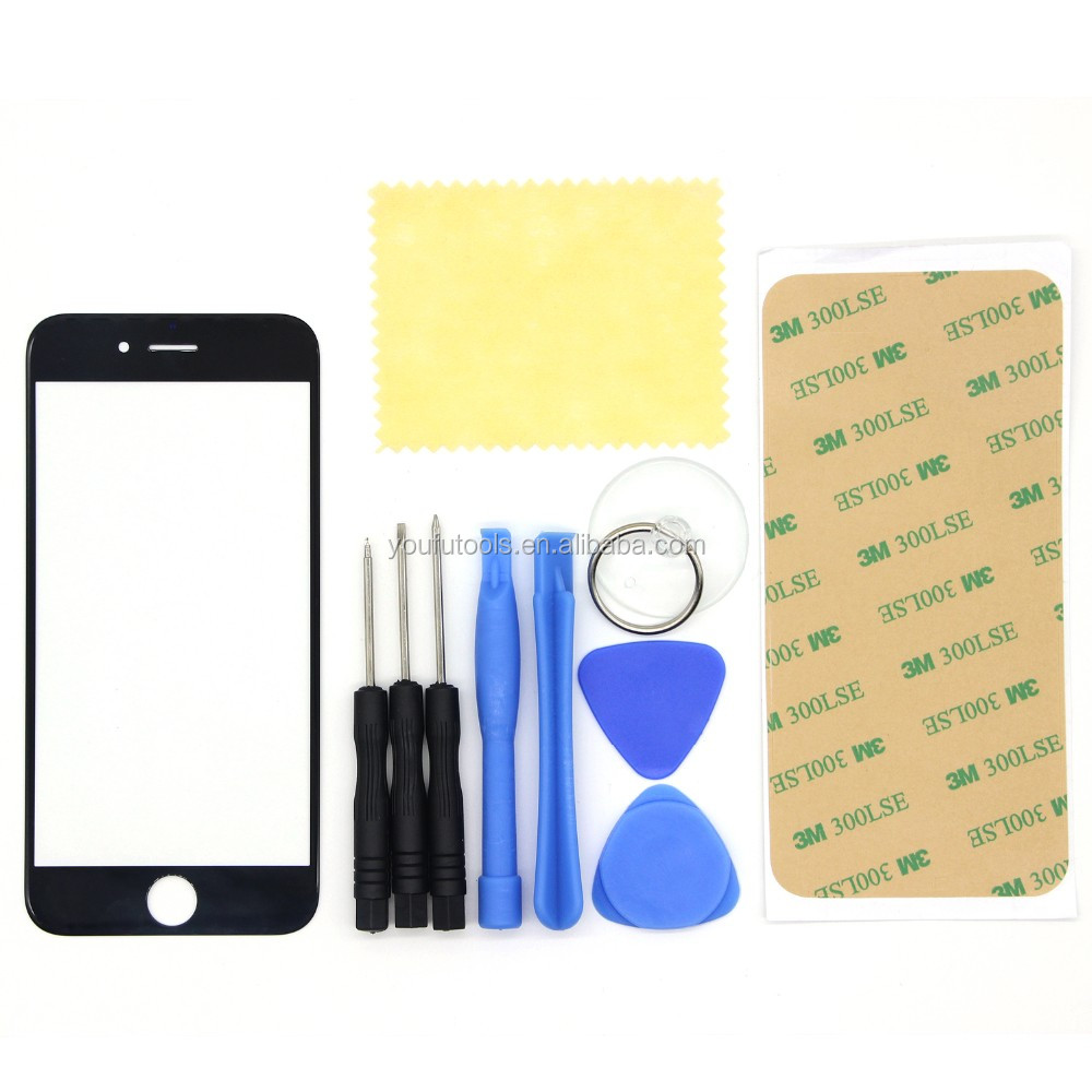 11 in 1 Front Outer Glass Lens Replacement Disassembly Opening Screwdriver Kit for iPhone6 6s