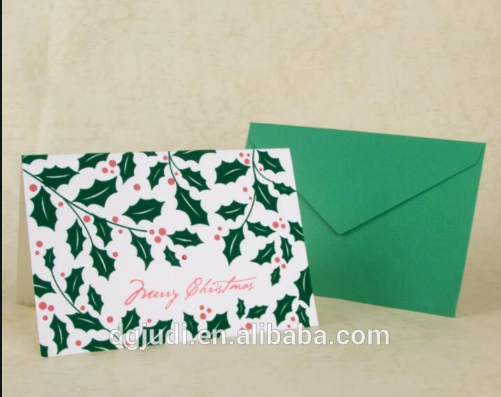 New pattern funny card envelope handmade teachers' day greeting cards with best price