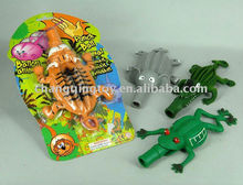 Novelty TPR Promotion Inflatable Balloon,punch animals,tiger,elephent,frog,crocodile