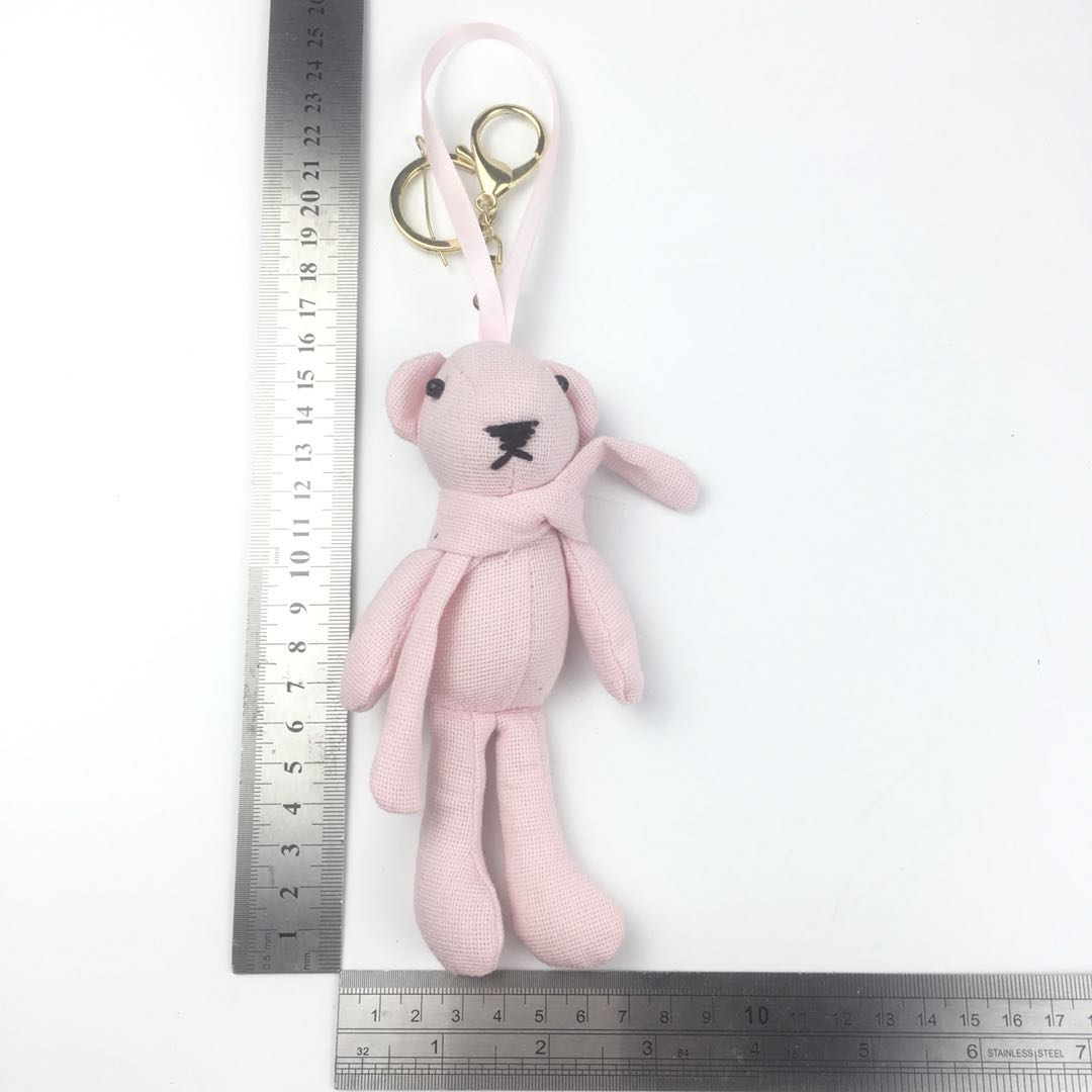 Rabbit cartoon keychain custom keyring for car and bag