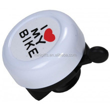 bicycle bell in any color and with customized logo/metal bike bell for promotion