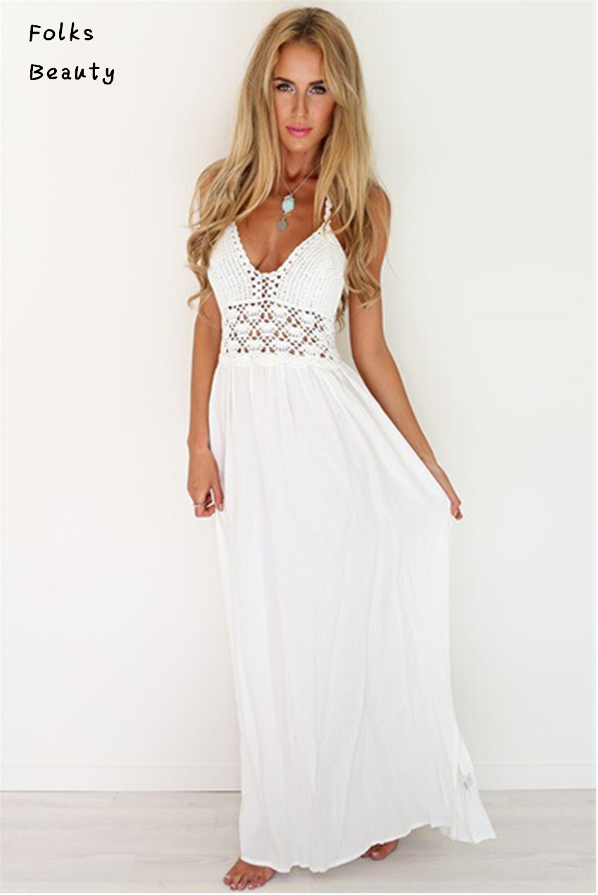 White. See more colors. Price $ to $ Go. Please enter a minimum and maximum price See more special offers. Plus Size Maxi Dresses. invalid category id. Plus Size Maxi Dresses. Showing 8 of 8 results that match your query. Search Product Result. Product - Women Casual Plus Size V-Neck Long Sleeve Dress Sexy Beautiful Party Women Clothes.
