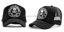 Skull ghost dance step dome cap truck driver design hat van truck hat man hip-hop cap
