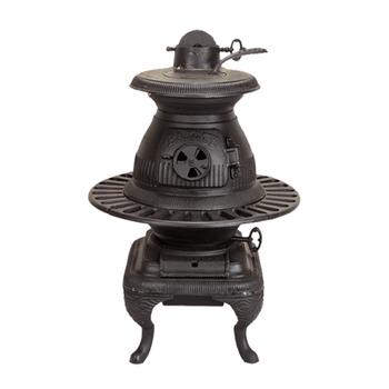 Caboose Pot Belly Fireplace