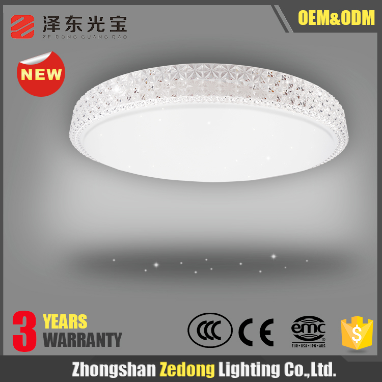 led residential lighting 60W led flush mount contemporary ceiling light for home surface mounted round led ceiling light fixture