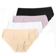 In Stock Items Quick Dry Sexy Panties Seamless Invisible Women Cotton Panties Underwear/Breathable Sexy Short Panties For Women