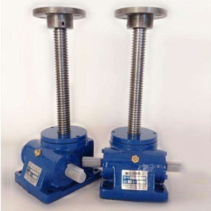 quick mechanical small lifting worm gear screw jack jacks