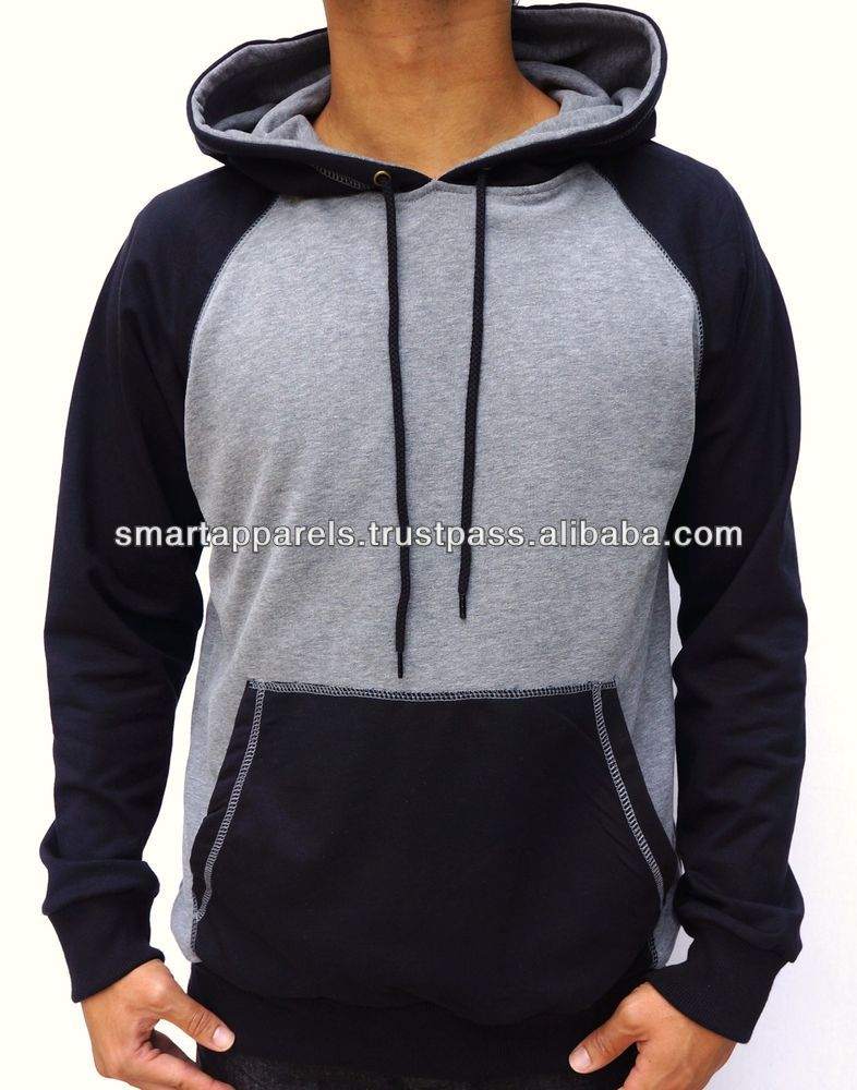 oem blank high quality hoodies custom no brand name men thumb holes hoodies