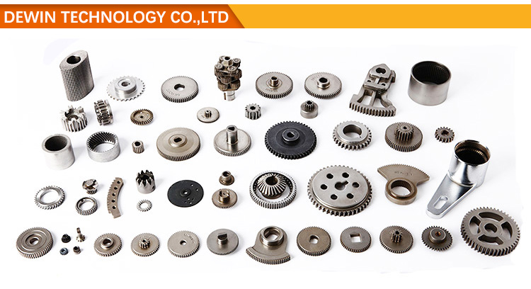 Customized powder metallurgy small planetary gear set