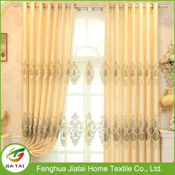 Embroidery Designs Curtains, Fancy Luxury Window Cotton Curtain