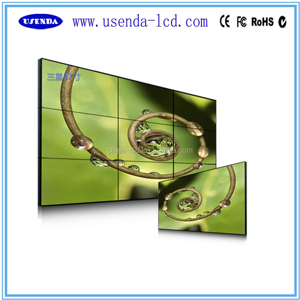 47 inch original LG DID panel 4.9mm ultra narrow video lcd wall
