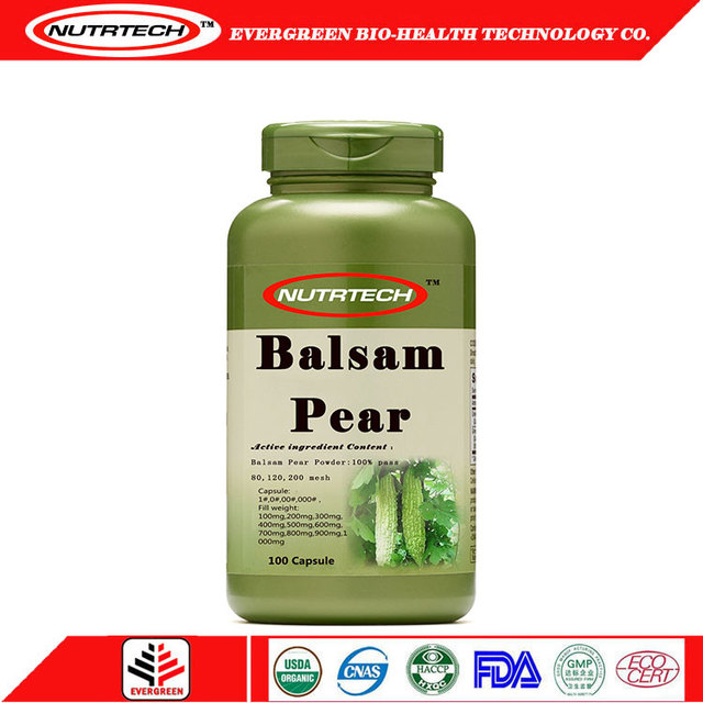 Customize Balsam Pear lose weight slim fast capsule from Integrity supplier