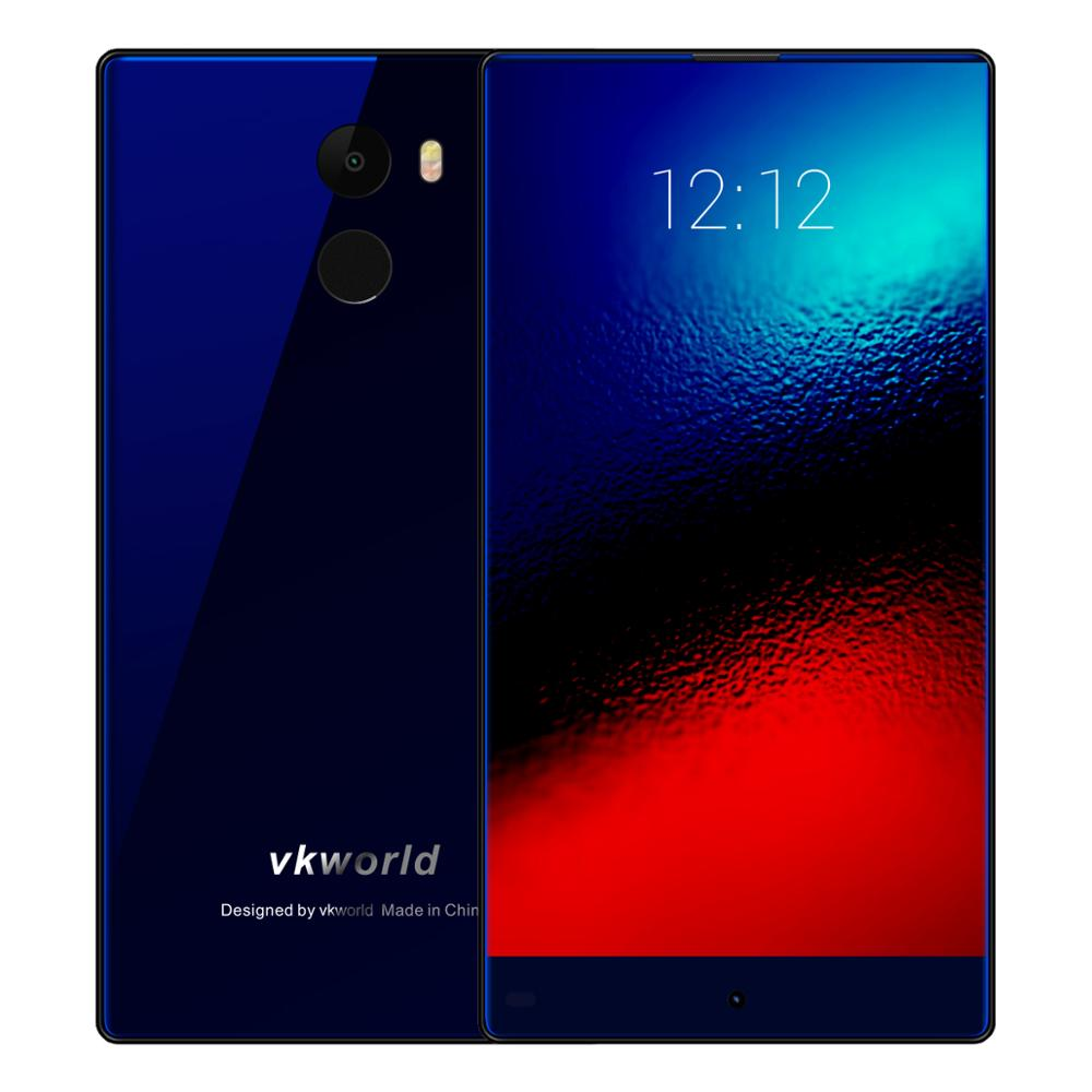 Mobile Phone Accessaries Factory in China Vkworld Mix Plus Android 7.0 Dual Sim 5.5inch Cheap Back Fingerprint Phone 13MP 3G+32G