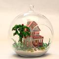 Handmade Doll House Furniture Miniatura Diy Doll Houses Miniature Dollhouse Wooden Toys For Children Grownups Birthday