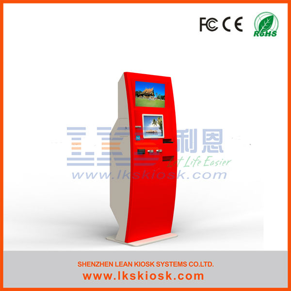 LKS ticket vending machine with bill validator