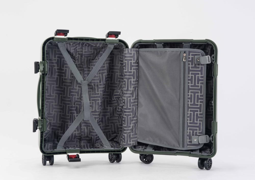 BUBULE 100% PP Suitcse Carry-on Trolley Travelling Bags Luggage