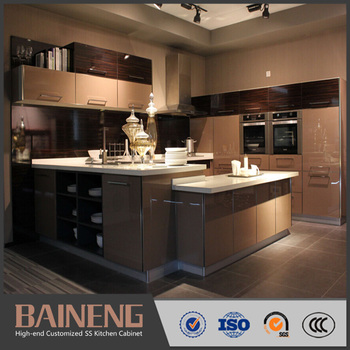 New Style Knock Down Kitchen Cabinets For Small Kitchen Design With Good  Price