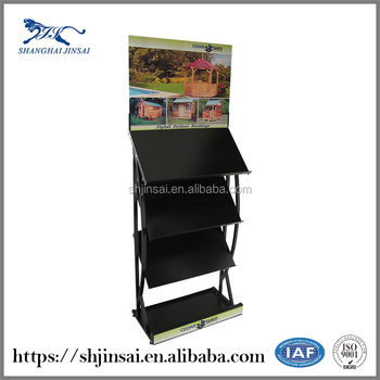 Book Dvd Fabric Roll Display Stands Gift Card Display Rack