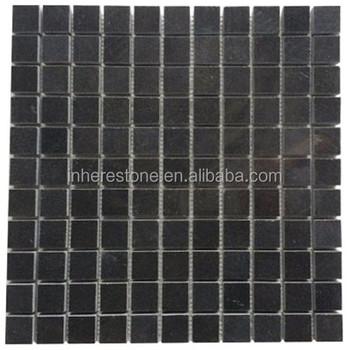 60x60 Black Granite Mosaic Tiles For
