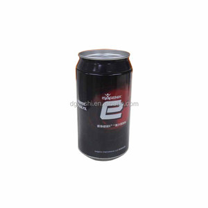 Factory price custom logo metal soft drink tin cans OEM
